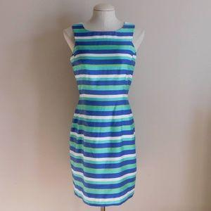 Dana Buchman Dresses Striped Dress - 8